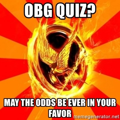 Typical fan of the hunger games - Obg Quiz? May the odds be EvEr in Your favor