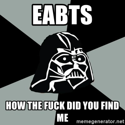 Questionable Vader - eabts how the fuck did you find me