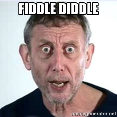 Michael Rosen  - fiddle diddle