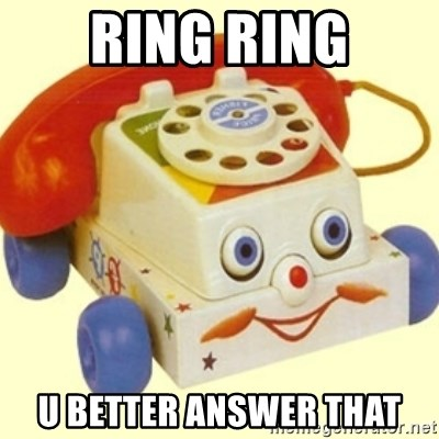 Sinister Phone - RING RING U BETTER ANSWER THAT