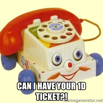 Sinister Phone - CAN I HAVE YOUR 1D TICKET?!