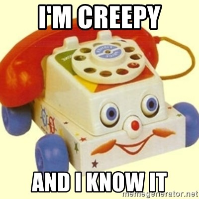 Sinister Phone - i'm creepy and i know it