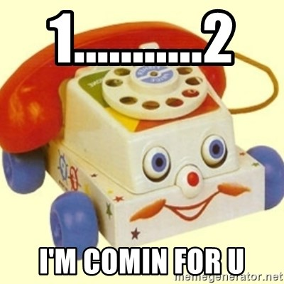 Sinister Phone - 1...........2 I'M COMIN FOR U