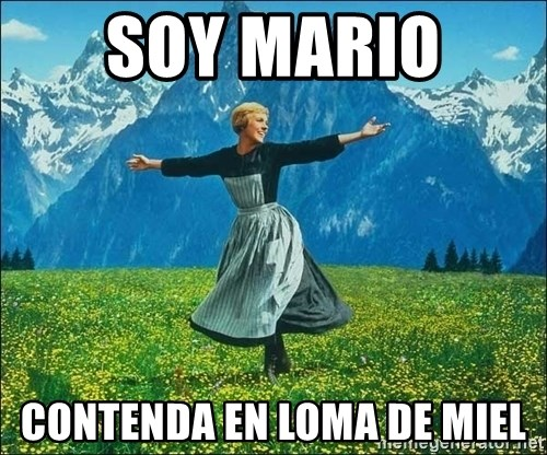 Look at all the things - Soy Mario  Contenda en loma de miel
