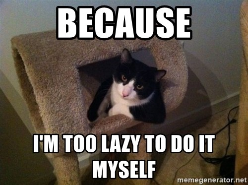cool cat - Because I'm too lazy to do it myselF