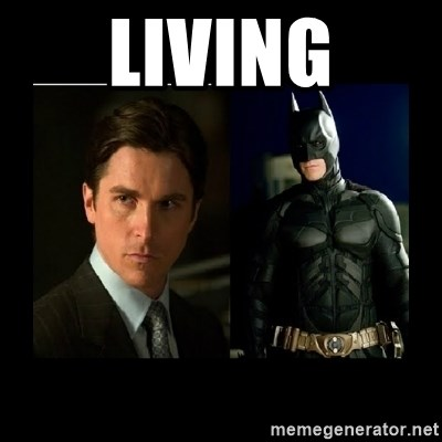 Batman's voice  - living