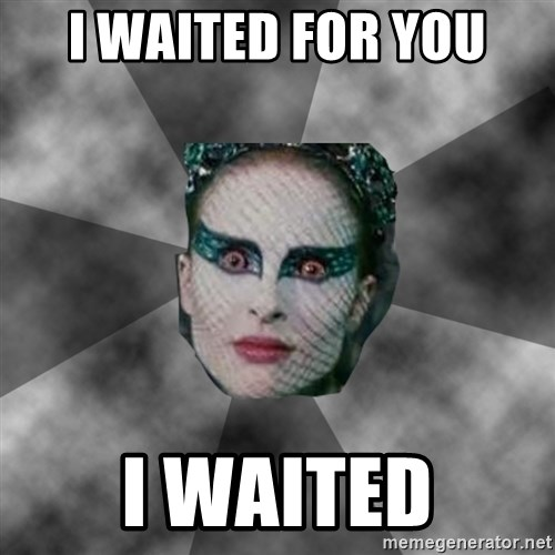 Black Swan Eyes - i waited for you i waited
