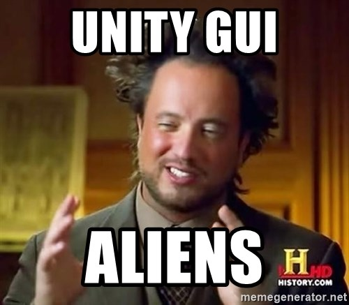 Ancient Aliens - UNITY GUI ALIENS