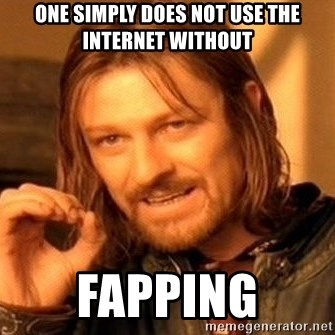 One Does Not Simply - one simply does not use the internet without FAPPING