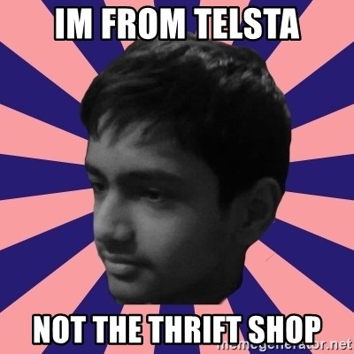 Los Moustachos - I would love to become X - IM FROM TELSTA NOT THE THRIFT SHOP