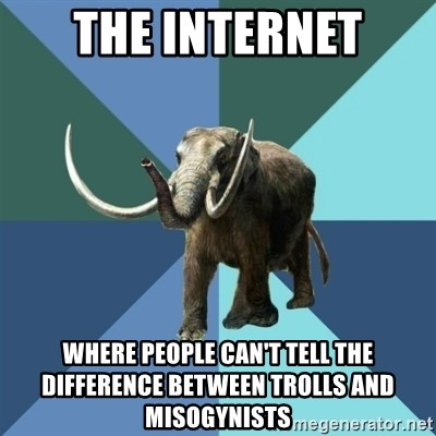Misogyny Mastodon - the internet where people can't tell the difference between trolls and misogynists