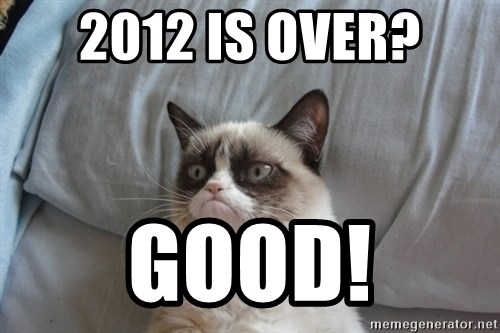 Grumpy cat good - 2012 is Over? Good!