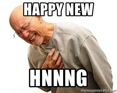 Old Man Heart Attack - Happy new hnnng