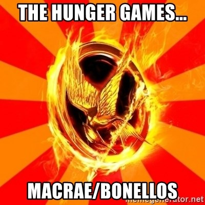 Typical fan of the hunger games - THE HUNGER GAMES... MACRAE/BONELLOS