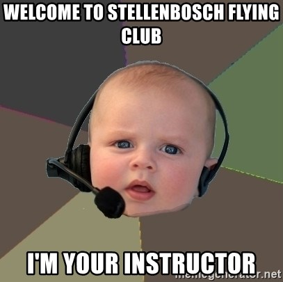 FPS N00b - WELCOME TO STELLENBOSCH FLYING CLUB I'M YOUR INSTRUCTOR