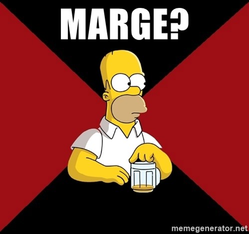 Homer Jay Simpson - MARGE?