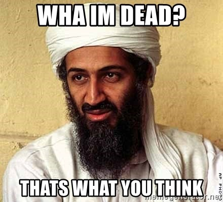 Osama Bin Laden - wha im dead? thats what you think