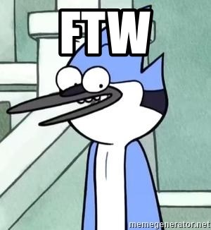 The WTF Mordecai - FTW