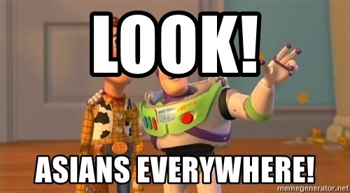 Consequences Toy Story - Look! Asians everywhere!