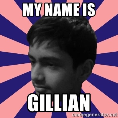 Los Moustachos - I would love to become X - MY NAME IS GILLIAN