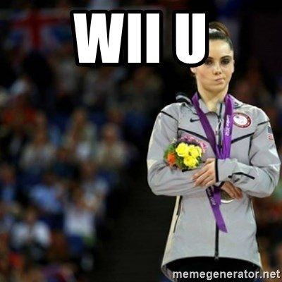 unimpressed McKayla Maroney 2 - Wii U