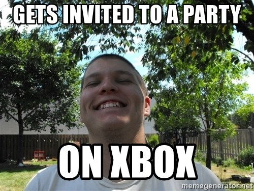 Jamestroll - GETS INVITED TO A PARTy on xbox
