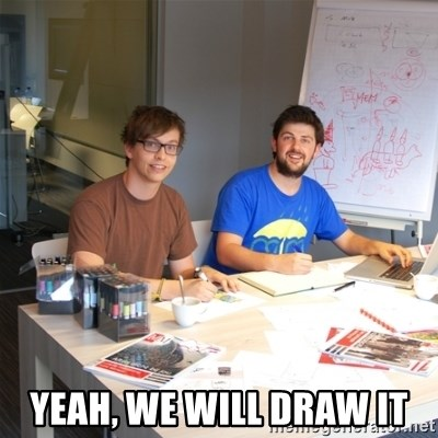 Naive Junior Creatives - Yeah, We Will Draw It