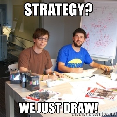 Naive Junior Creatives - Strategy? We Just Draw!