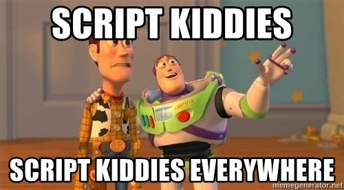 Consequences Toy Story - script kiddies script kiddies everywhere