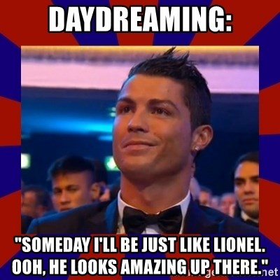 "CR177 - daydreaming: ""someday I'll be just like lionel. ooh, he looks amazing up there."""