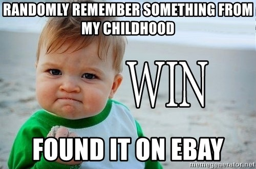 Win Baby - Randomly remember something from my childhood found it on ebay