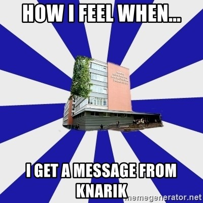 Tipichnuy MGLU - HOW I FEEL WHEN... I GET A MESSAGE FROM KNARIK
