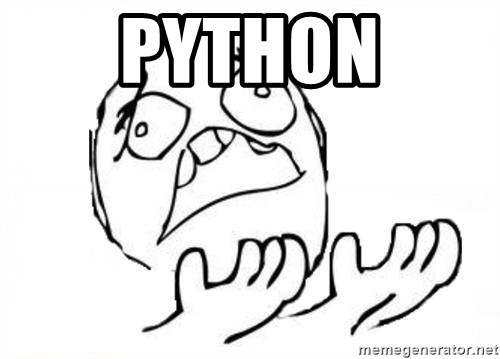 WHY SUFFERING GUY - Python