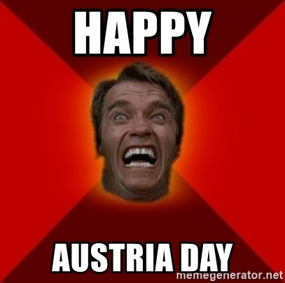 Angry Arnold - happy AUSTRIA day