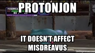 MISDREAVUS - Protonjon  it doesn't affect misdreavus