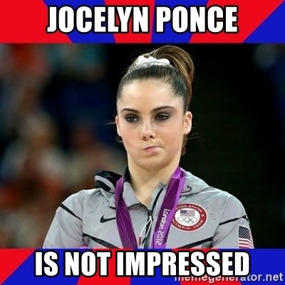 Mckayla Maroney Does Not Approve - jocelyn ponce is not impressed