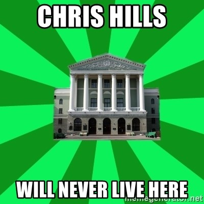 Tipichnuy BNTU - chris hills will never live here