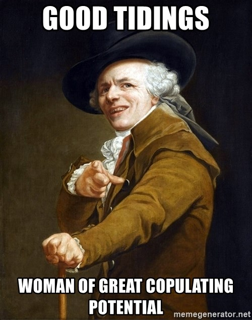 Joseph Ducreaux - GOOD TIDINGS WOMAN OF GREAT COPULATING POTENTIAL