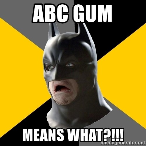 Bad Factman - ABC gum MEANS WHAT?!!!