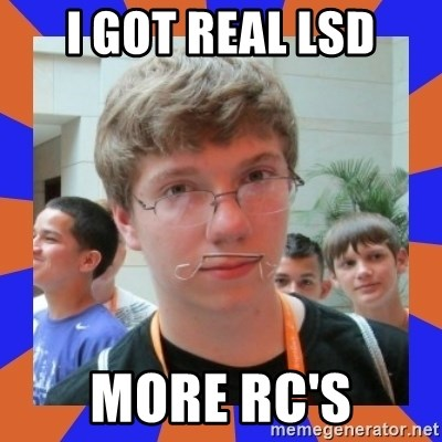 LOL HALALABOOS - i got real lsd more rc's