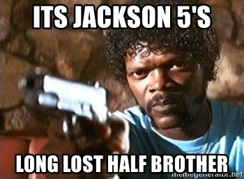 Pulp Fiction - ITs jackson 5's long lost half brother