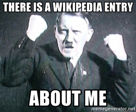 Successful Hitler - there is a wikipedia entry about me