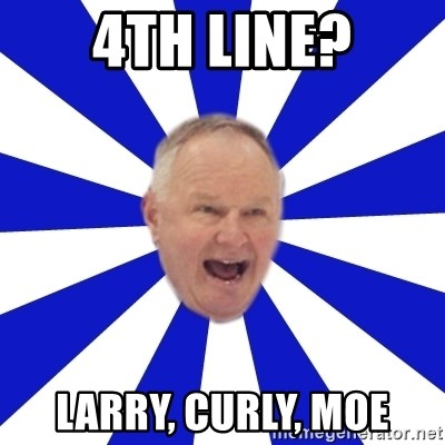 Crafty Randy - 4th LINE? Larry, Curly, Moe