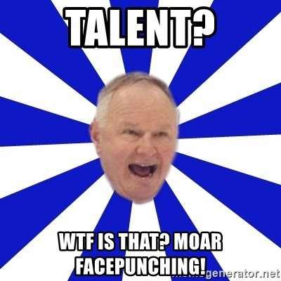 Crafty Randy - talent? wtf is that? moar facepunching!