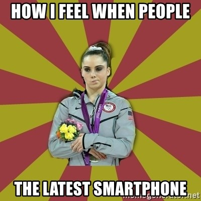 Not Impressed Makayla - HOW I FEEL WHEN PEOPLE THE LATEST SMARTPHONE