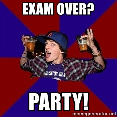 Sunny Student - Exam over? party!