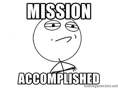 Challenge Accepted HD - MISSION ACCOMPLISHED