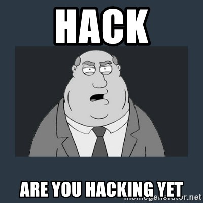 Family Guy Smoke - HACK ARE YOU HACKING YET