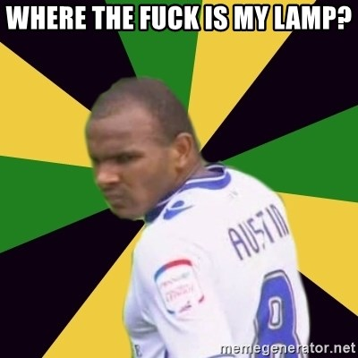Rodolph Austin - WHERE THE FUCK IS MY LAMP?