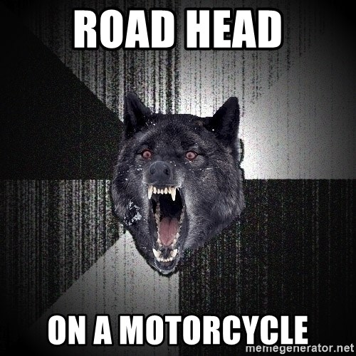 Insanity Wolf - Road Head On a Motorcycle